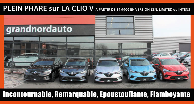 Les véhicules Grand Nord Auto
